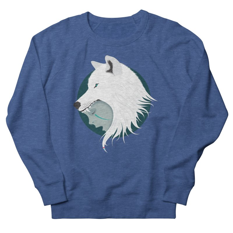 Boy Cries Wolf Men's Sweatshirt by ayarti's Artist Shop