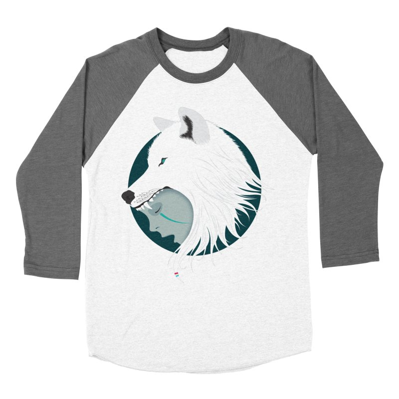 Boy Cries Wolf Women's Baseball Triblend T-Shirt by ayarti's Artist Shop