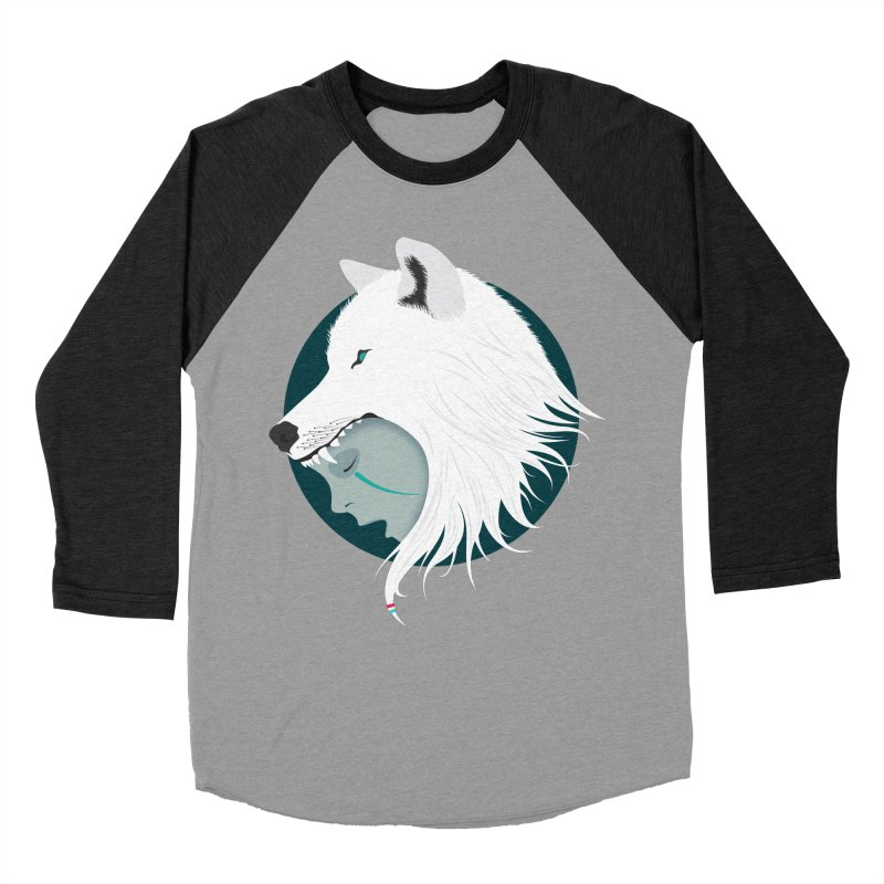 Boy Cries Wolf Women's Baseball Triblend T-Shirt by ayarti's Artist Shop