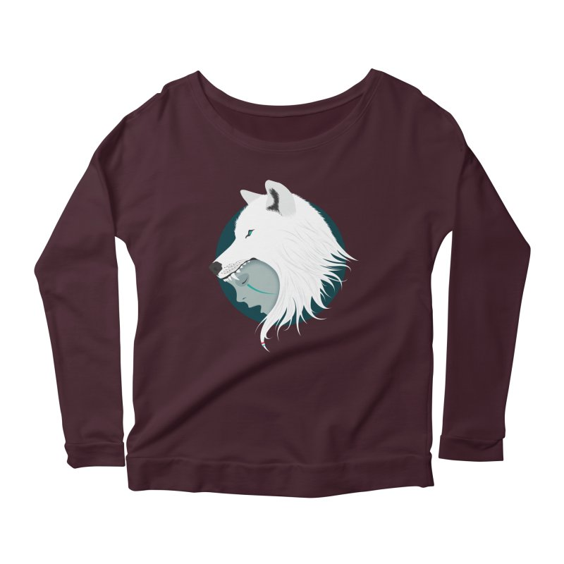 Boy Cries Wolf Women's Longsleeve Scoopneck  by ayarti's Artist Shop