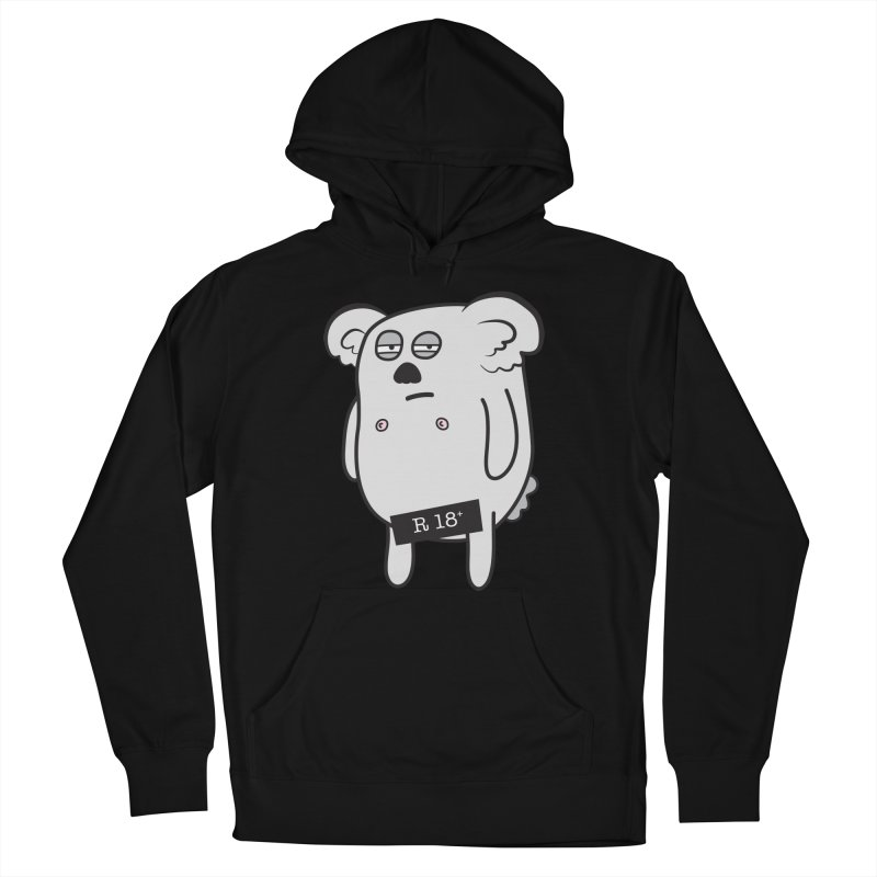 Koala Bare Men's Pullover Hoody by ayarti's Artist Shop