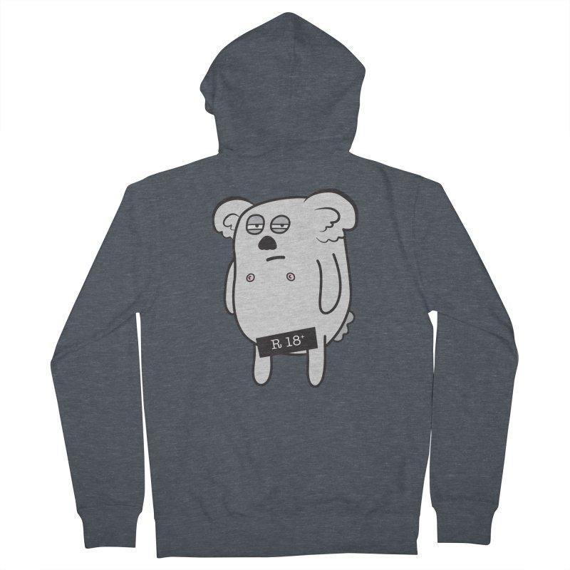 Koala Bare Women's Zip-Up Hoody by ayarti's Artist Shop