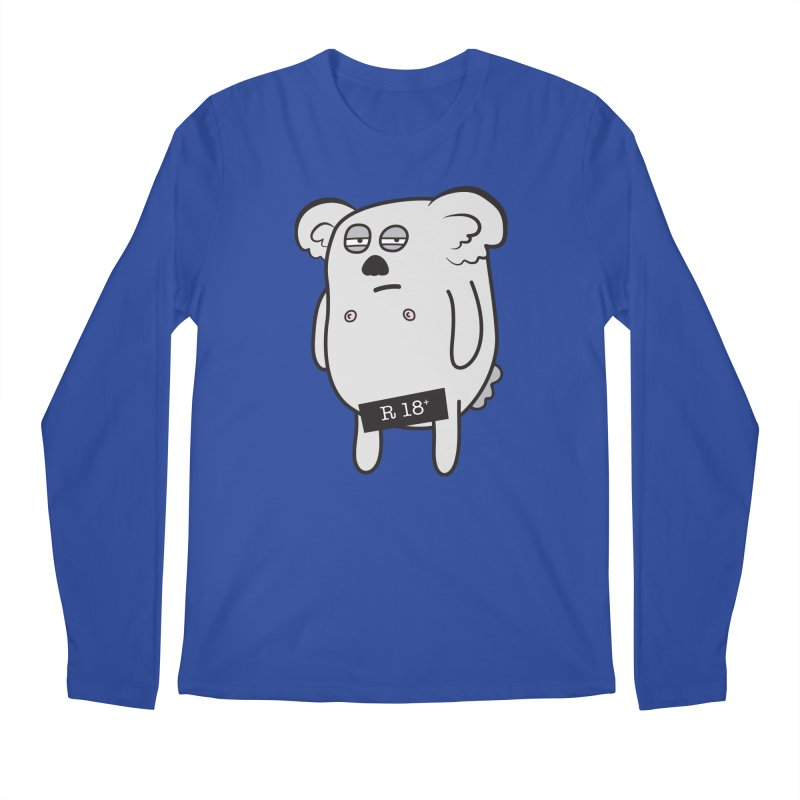 Koala Bare Men's Longsleeve T-Shirt by ayarti's Artist Shop