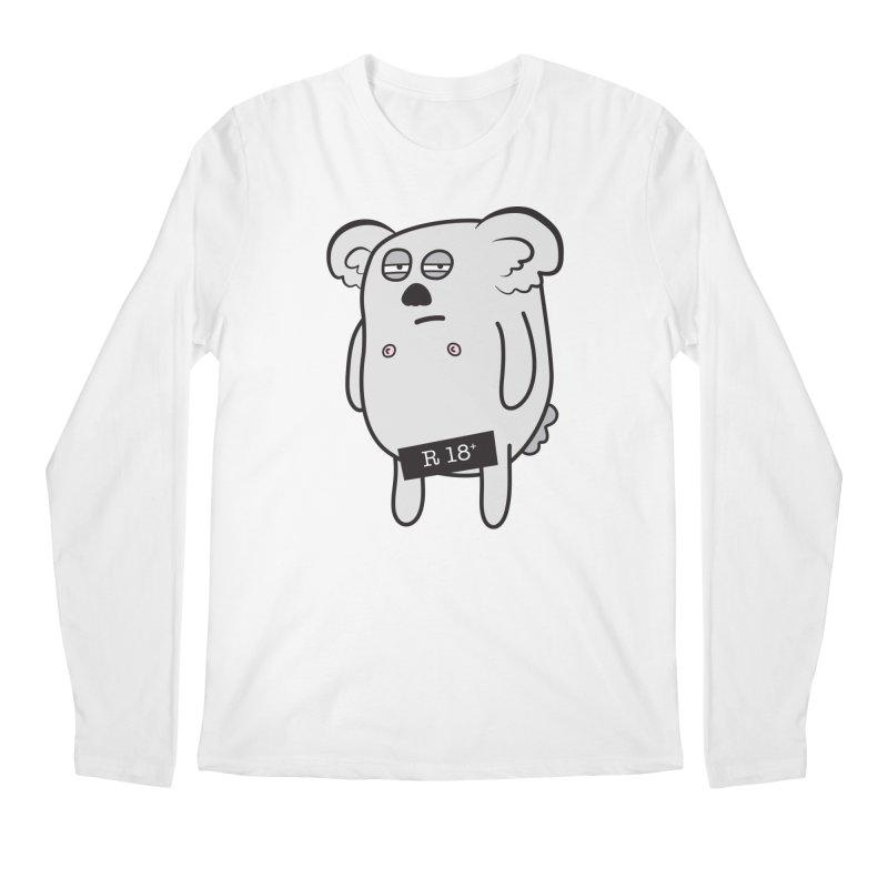 Koala Bare Men's Longsleeve T-Shirt by ayarti's Artist Shop