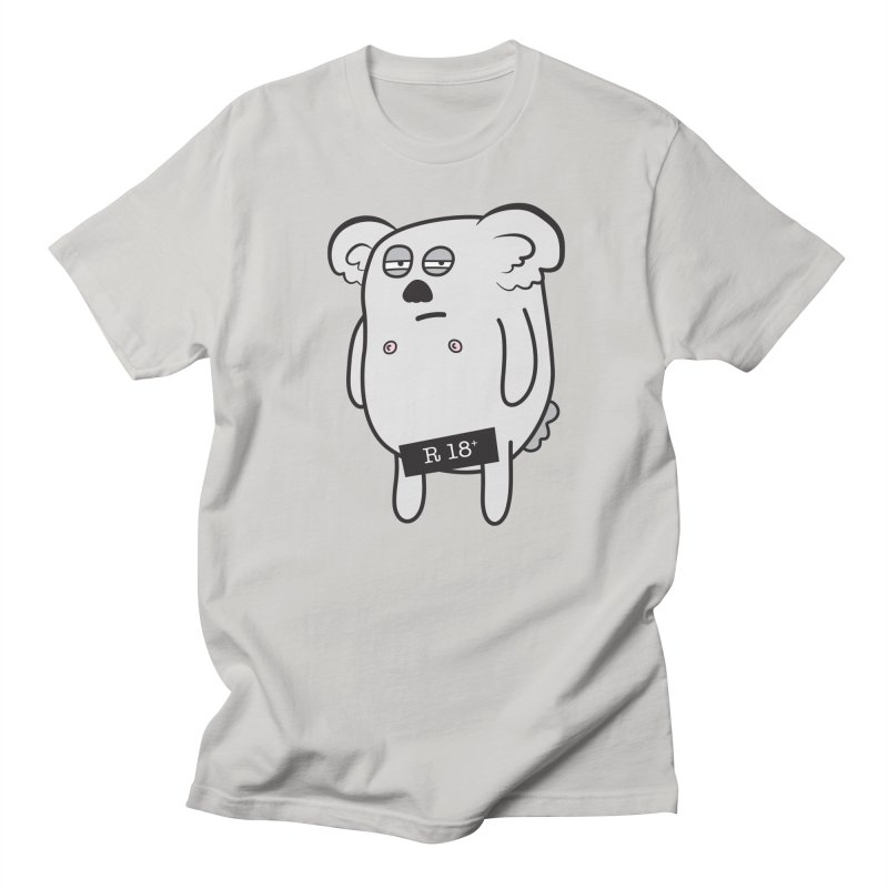 Koala Bare Men's T-shirt by ayarti's Artist Shop