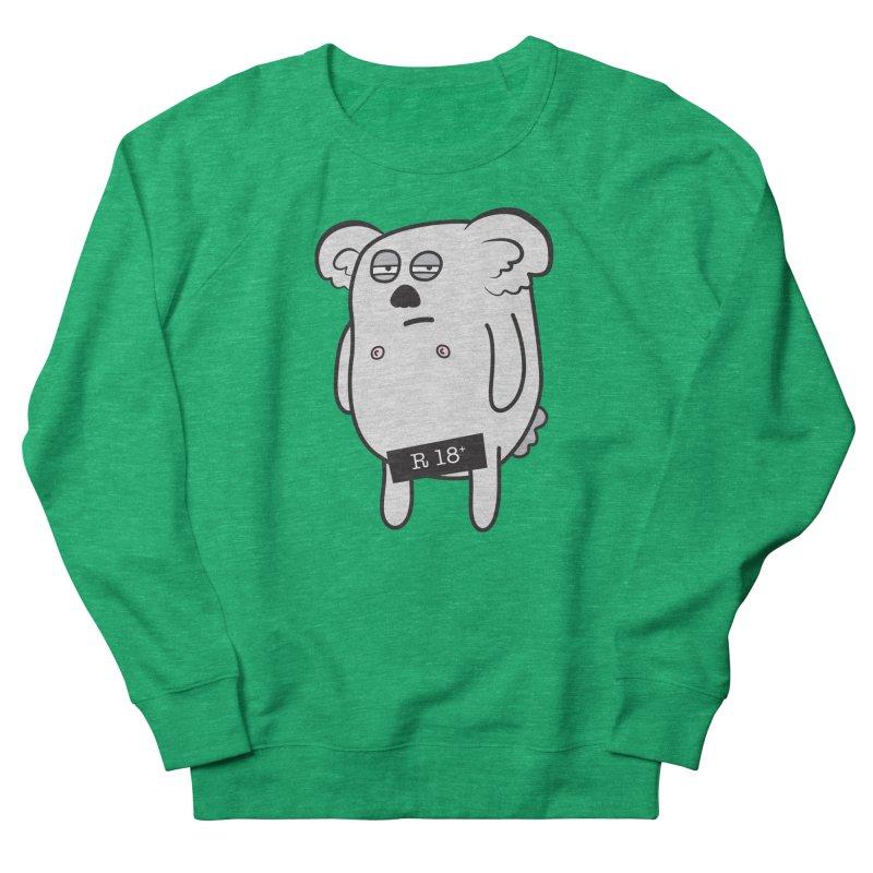 Koala Bare Men's Sweatshirt by ayarti's Artist Shop