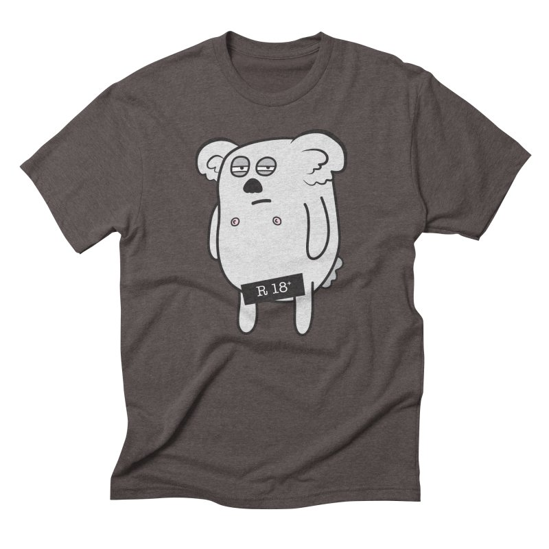 Koala Bare Men's Triblend T-Shirt by ayarti's Artist Shop