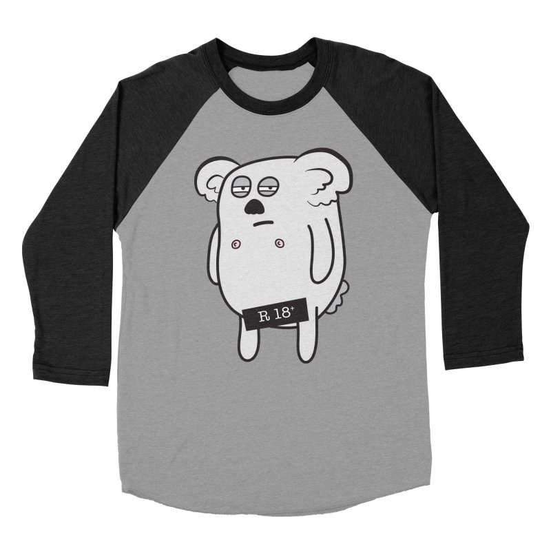Koala Bare Women's Baseball Triblend T-Shirt by ayarti's Artist Shop