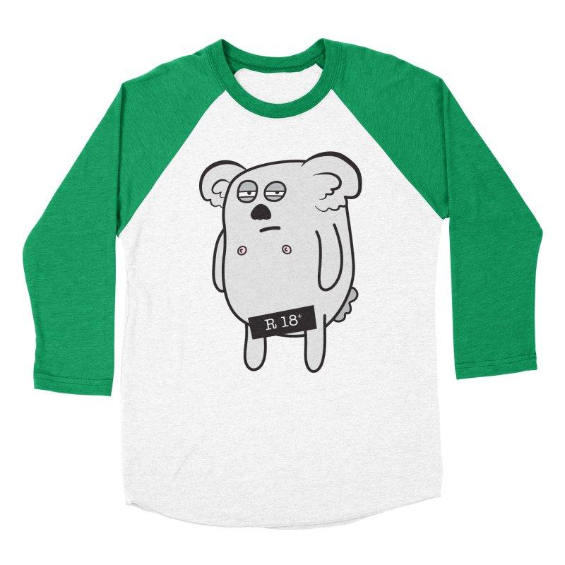 Koala Bare Men's Baseball Triblend T-Shirt by ayarti's Artist Shop