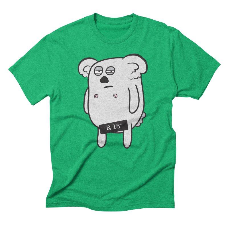 Koala Bare Men's Triblend T-shirt by ayarti's Artist Shop