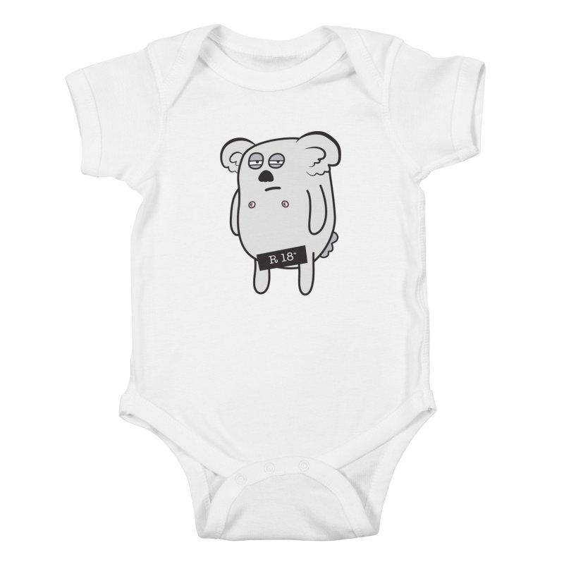 Koala Bare Kids Baby Bodysuit by ayarti's Artist Shop