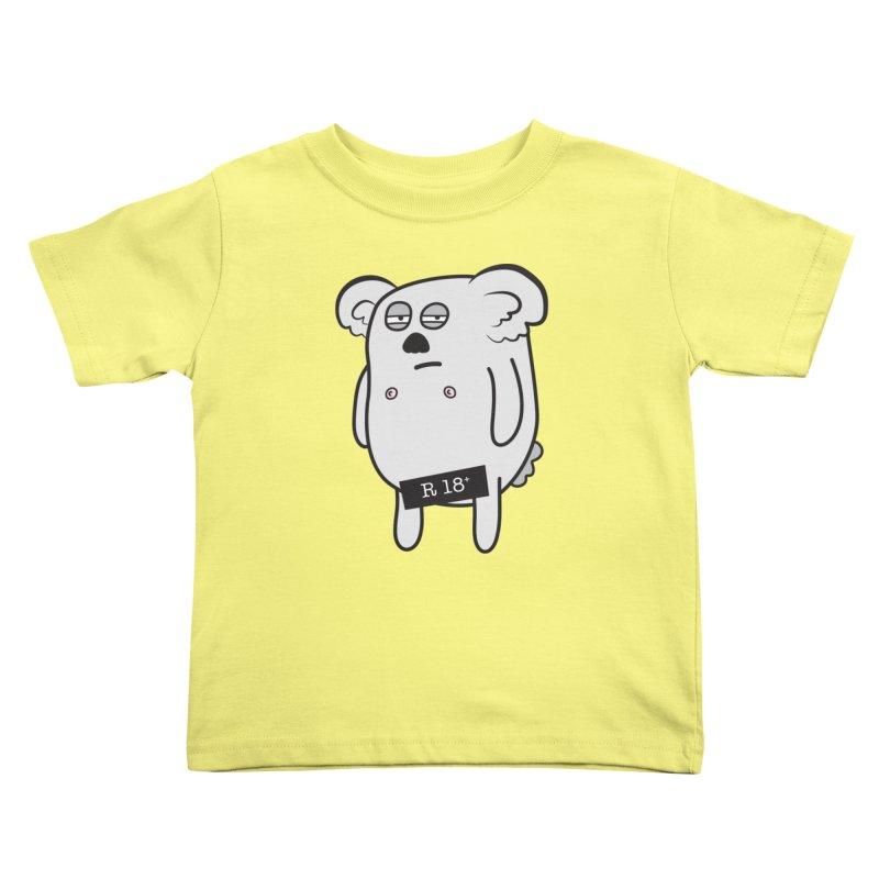 Koala Bare Kids Toddler T-Shirt by ayarti's Artist Shop