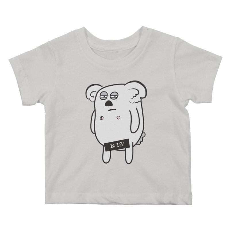 Koala Bare Kids Baby T-Shirt by ayarti's Artist Shop