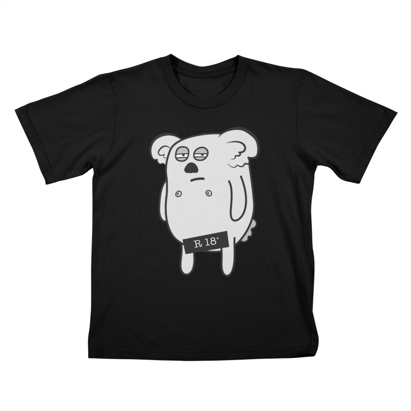 Koala Bare Kids T-Shirt by ayarti's Artist Shop