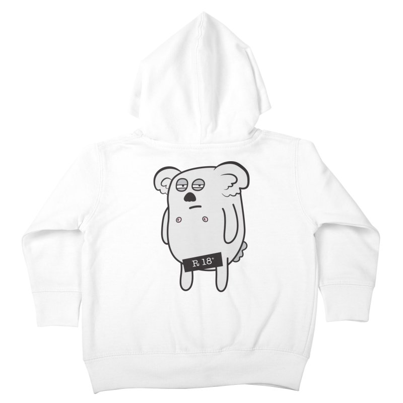 Koala Bare Kids Toddler Zip-Up Hoody by ayarti's Artist Shop