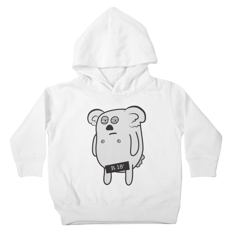 Koala Bare Kids Toddler Pullover Hoody by ayarti's Artist Shop