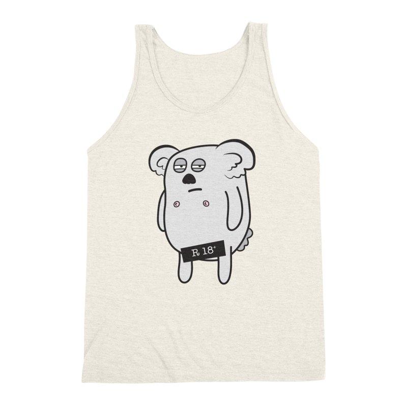 Koala Bare Men's Triblend Tank by ayarti's Artist Shop