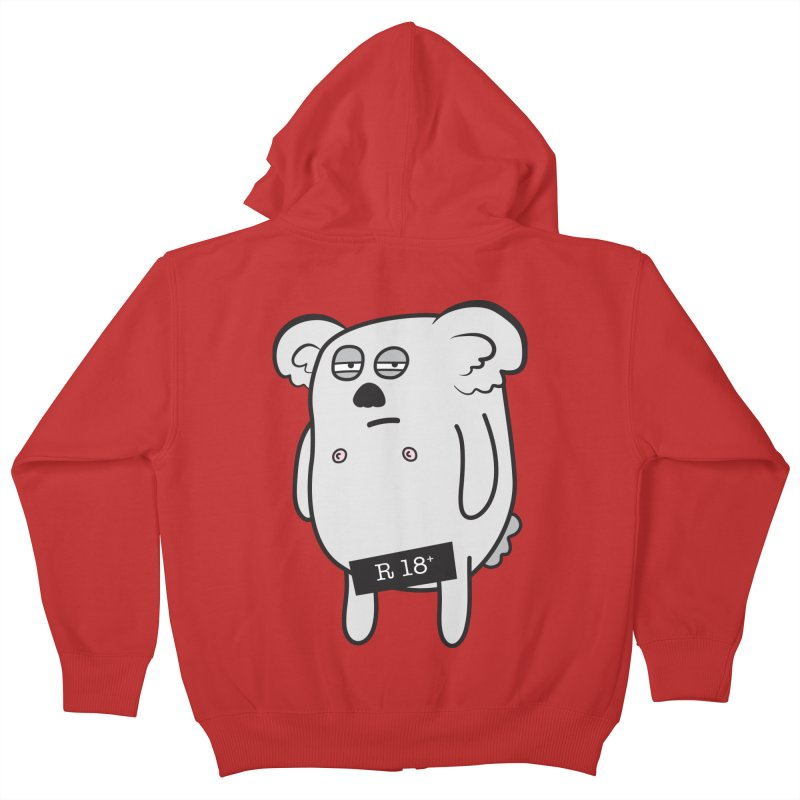 Koala Bare Kids Zip-Up Hoody by ayarti's Artist Shop