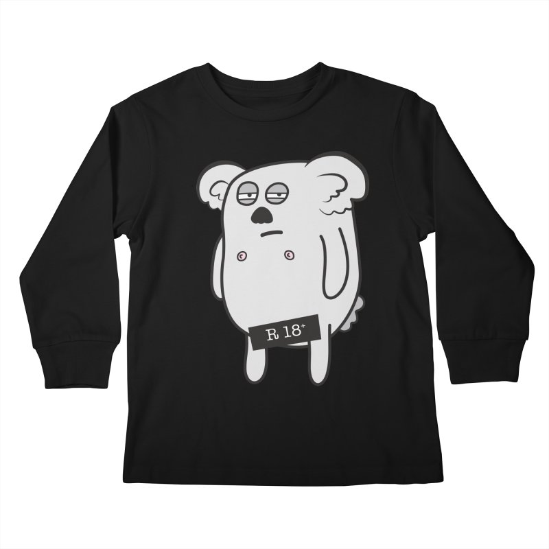 Koala Bare Kids Longsleeve T-Shirt by ayarti's Artist Shop