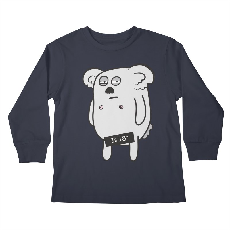 Koala Bare Kids Longsleeve T-Shirt by ayarti's Artist Shop
