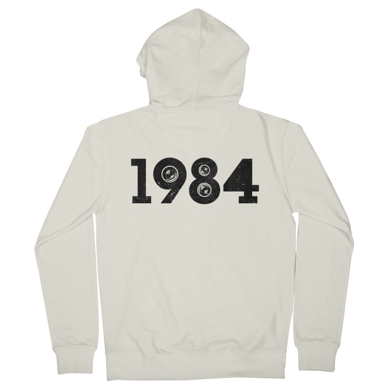 1984 Men's Zip-Up Hoody by ayarti's Artist Shop