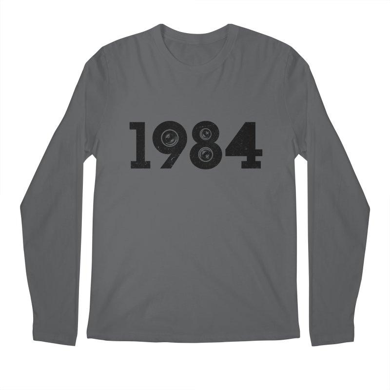 1984 Men's Longsleeve T-Shirt by ayarti's Artist Shop