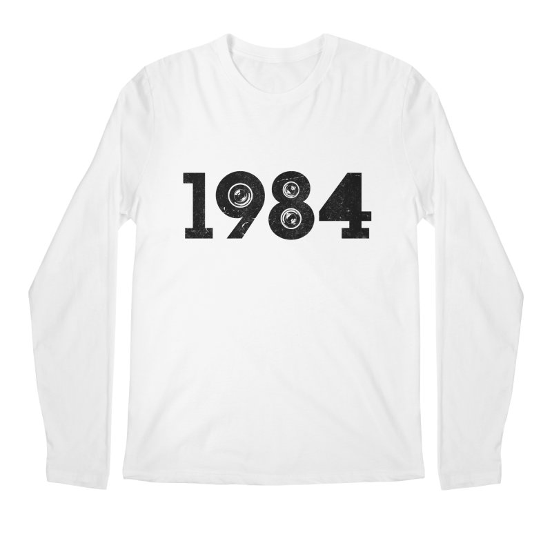 1984 Men's Longsleeve T-Shirt by ayarti's Artist Shop