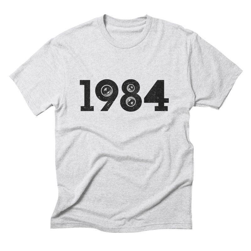 1984 Men's Triblend T-Shirt by ayarti's Artist Shop