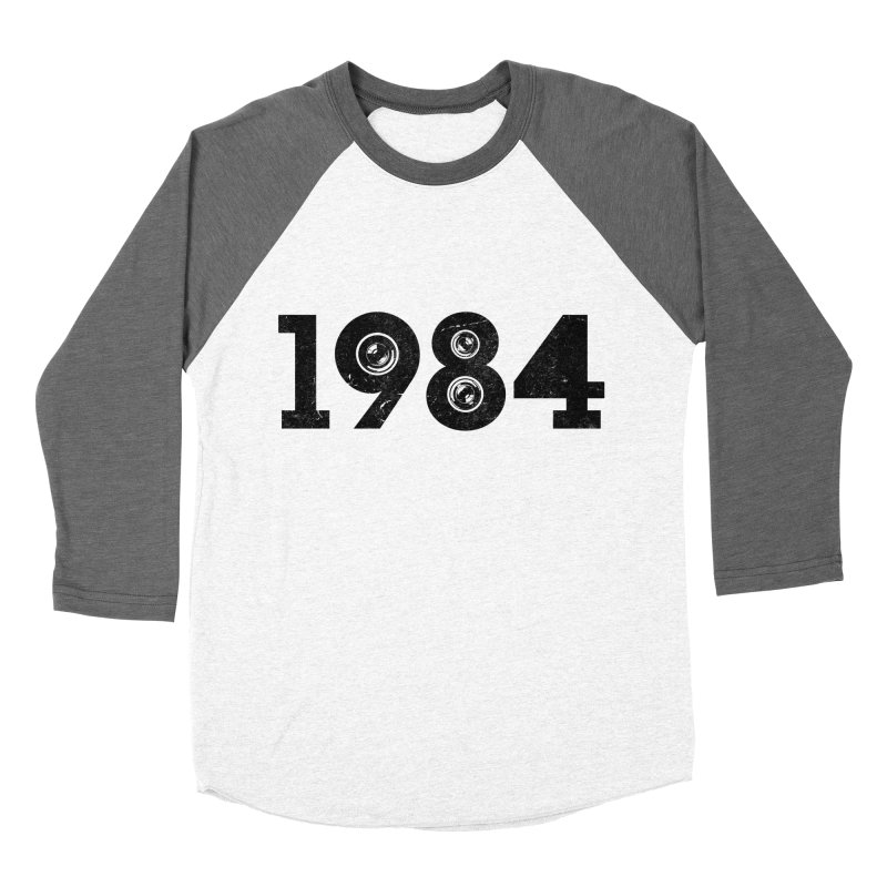 1984 Women's Baseball Triblend T-Shirt by ayarti's Artist Shop