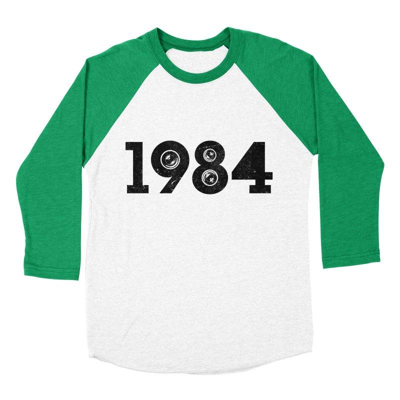 1984 Women's Baseball Triblend T-Shirt by ayarti's Artist Shop