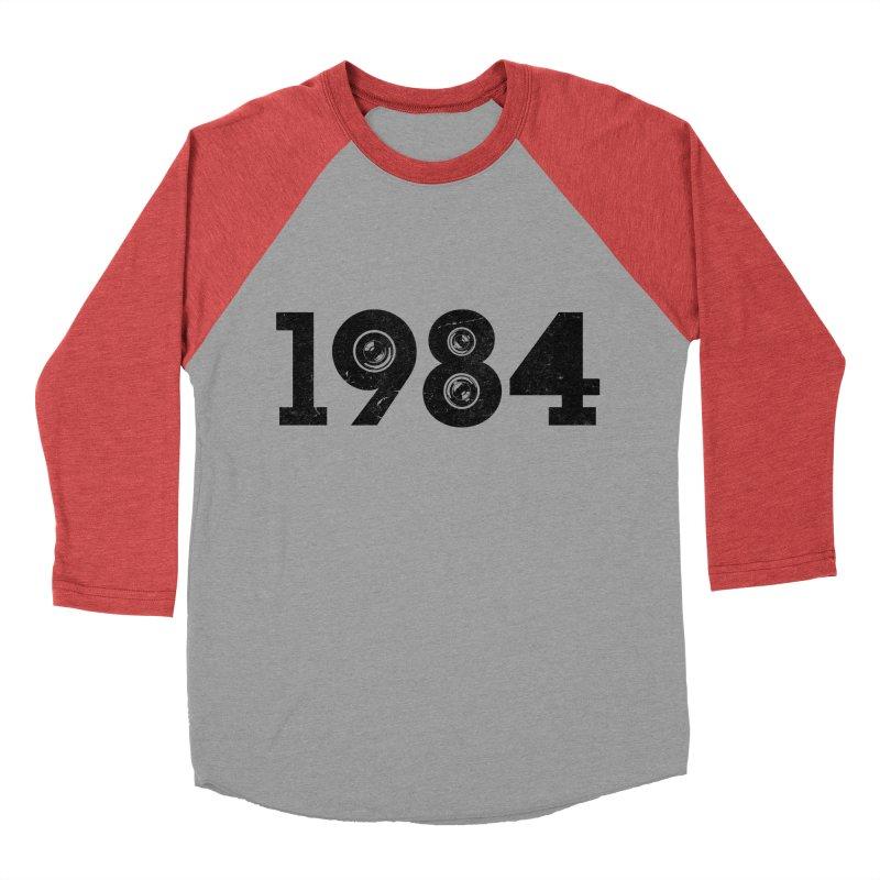 1984 Men's Baseball Triblend T-Shirt by ayarti's Artist Shop
