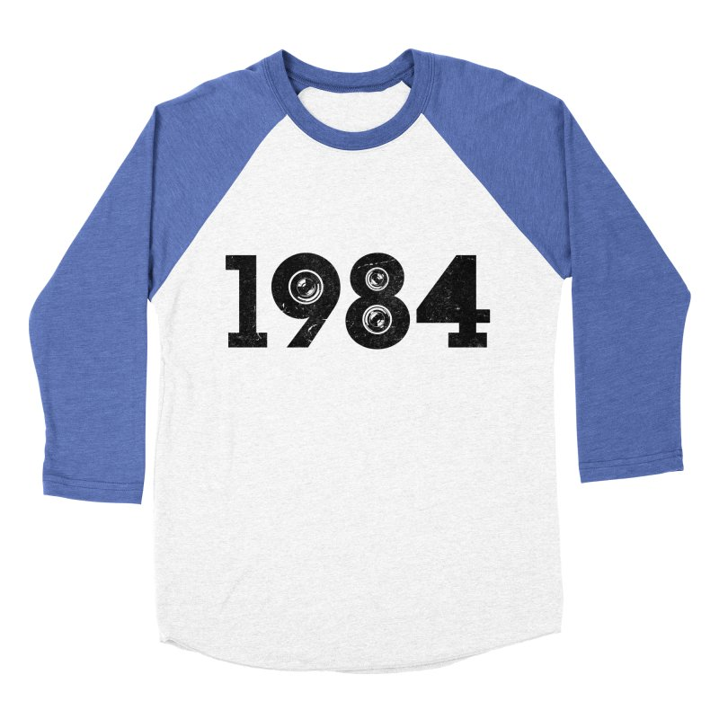 1984 Men's Baseball Triblend T-Shirt by ayarti's Artist Shop