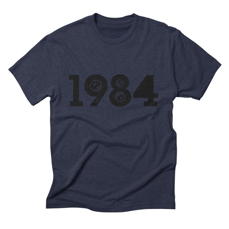 1984 Men's Triblend T-shirt by ayarti's Artist Shop