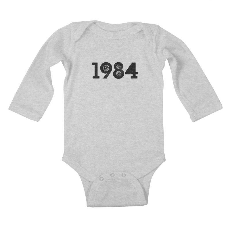 1984 Kids Baby Longsleeve Bodysuit by ayarti's Artist Shop