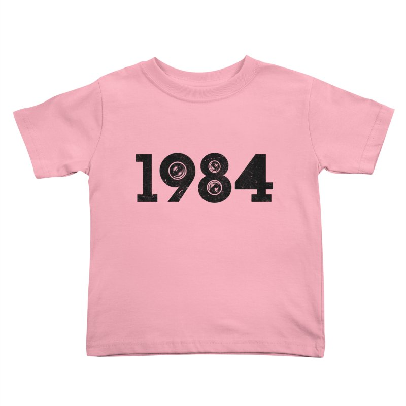 1984 Kids Toddler T-Shirt by ayarti's Artist Shop