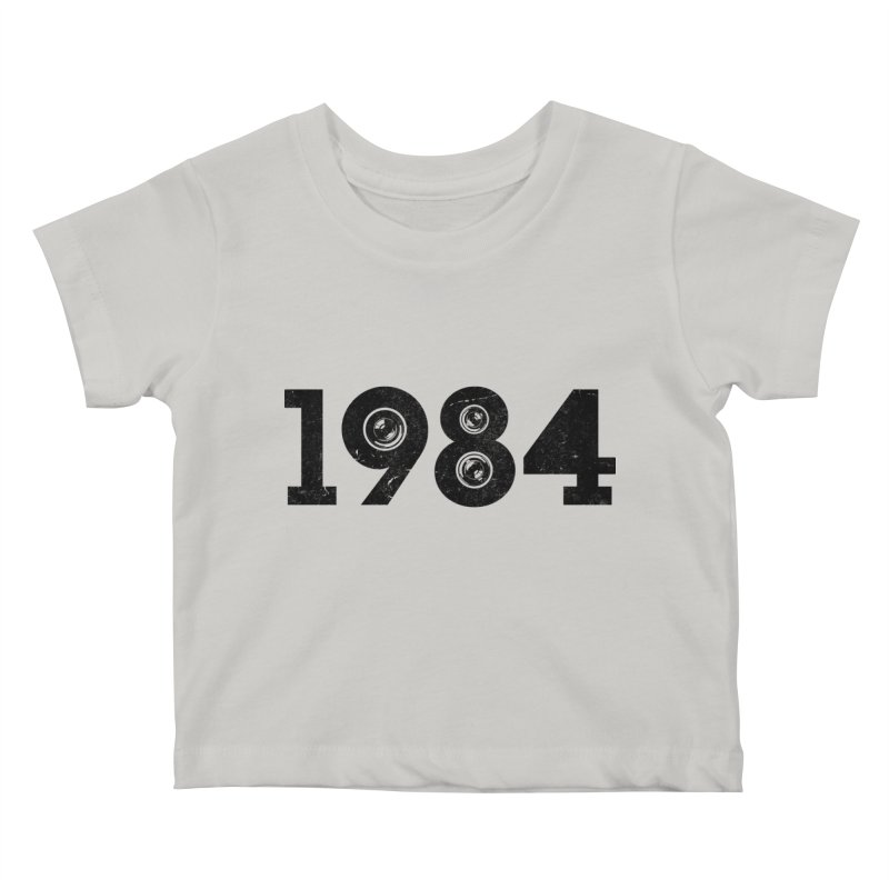 1984 Kids Baby T-Shirt by ayarti's Artist Shop