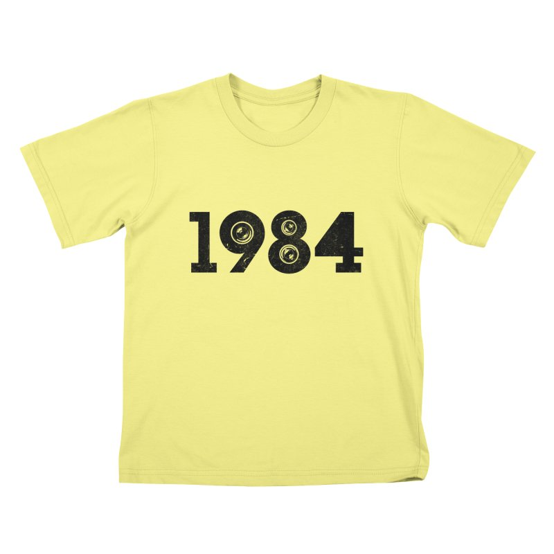 1984 Kids T-shirt by ayarti's Artist Shop