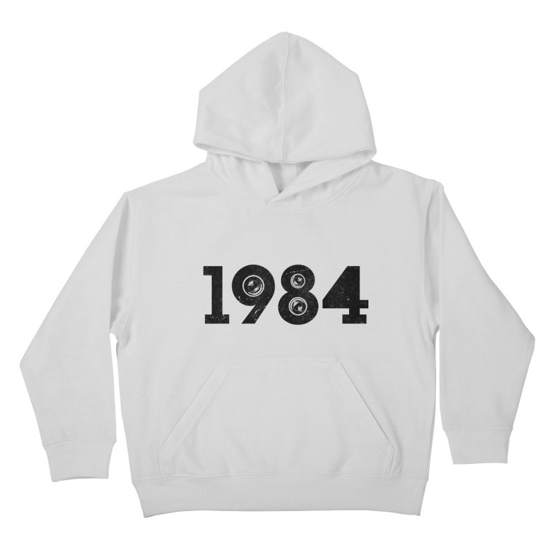 1984 Kids Pullover Hoody by ayarti's Artist Shop