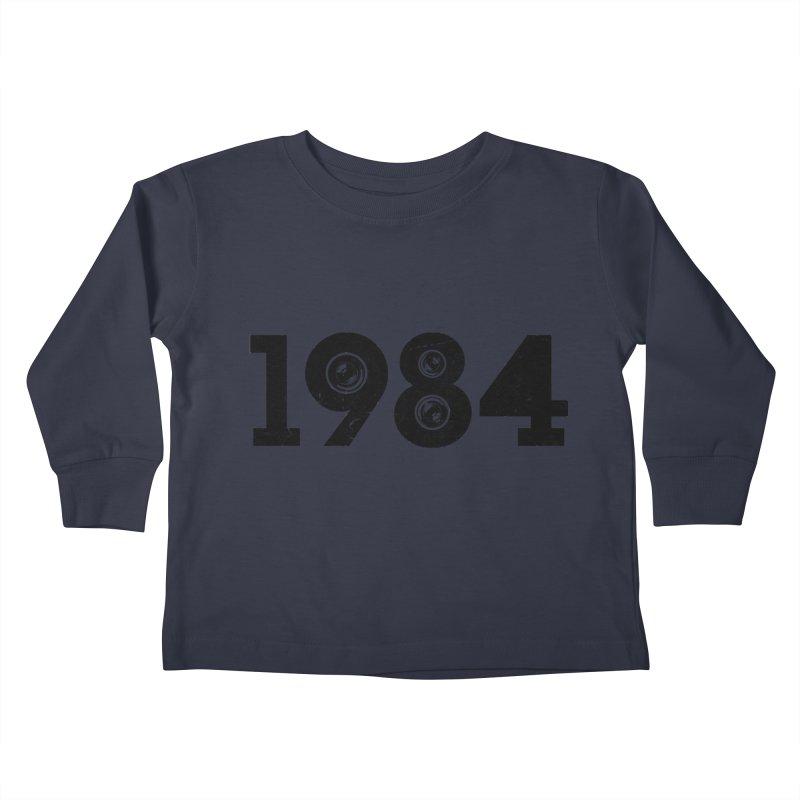 1984 Kids Toddler Longsleeve T-Shirt by ayarti's Artist Shop