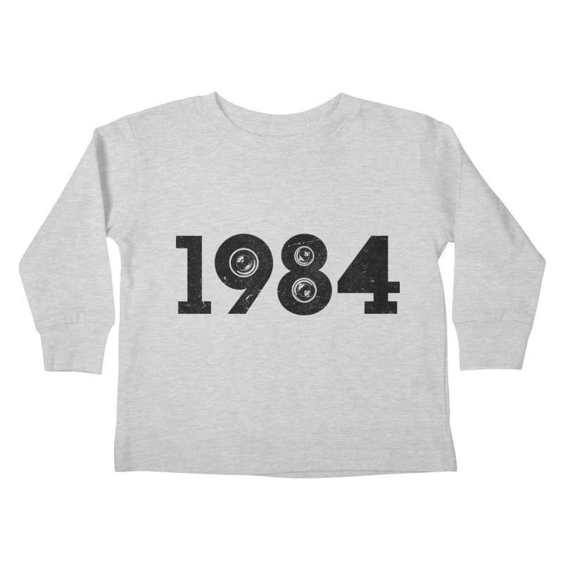 1984 Kids Toddler Longsleeve T-Shirt by ayarti's Artist Shop