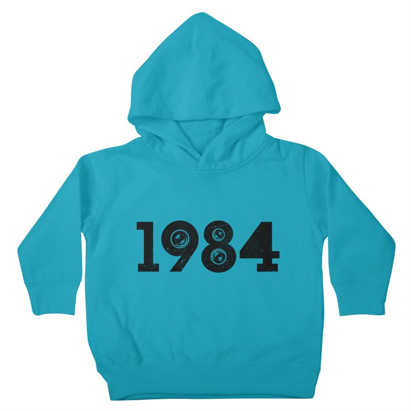 1984 Kids Toddler Pullover Hoody by ayarti's Artist Shop