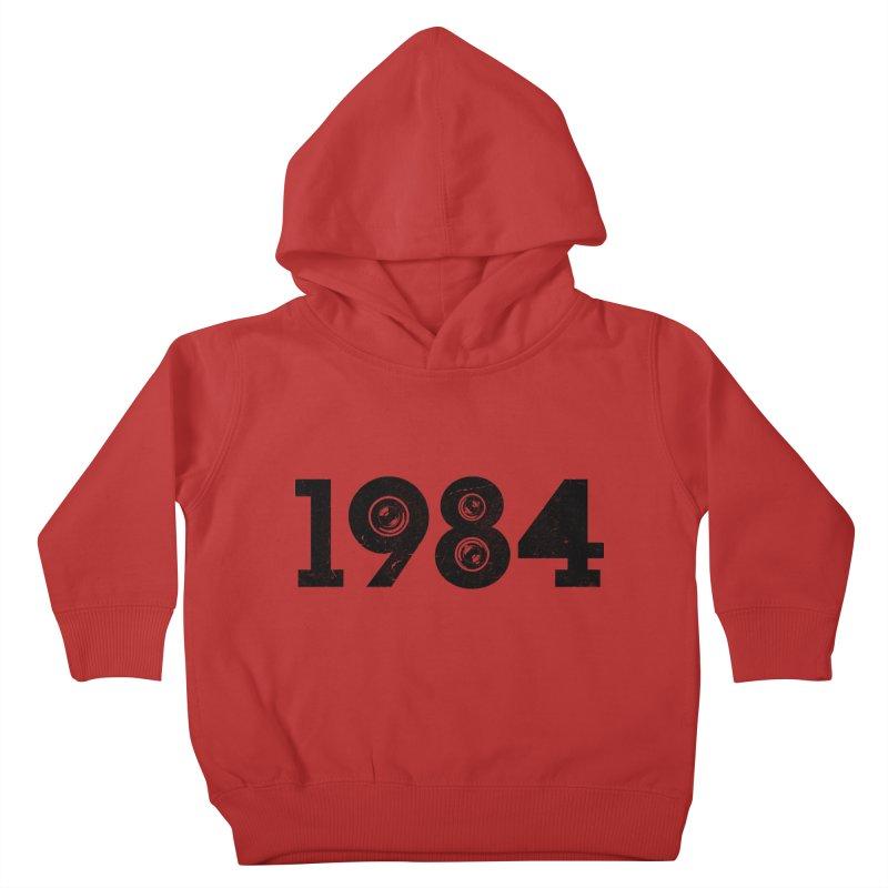 1984 Kids Toddler Pullover Hoody by ayarti's Artist Shop
