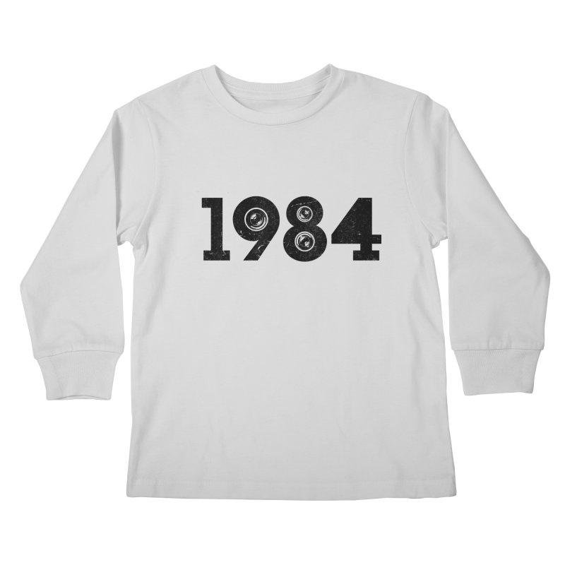 1984 Kids Longsleeve T-Shirt by ayarti's Artist Shop