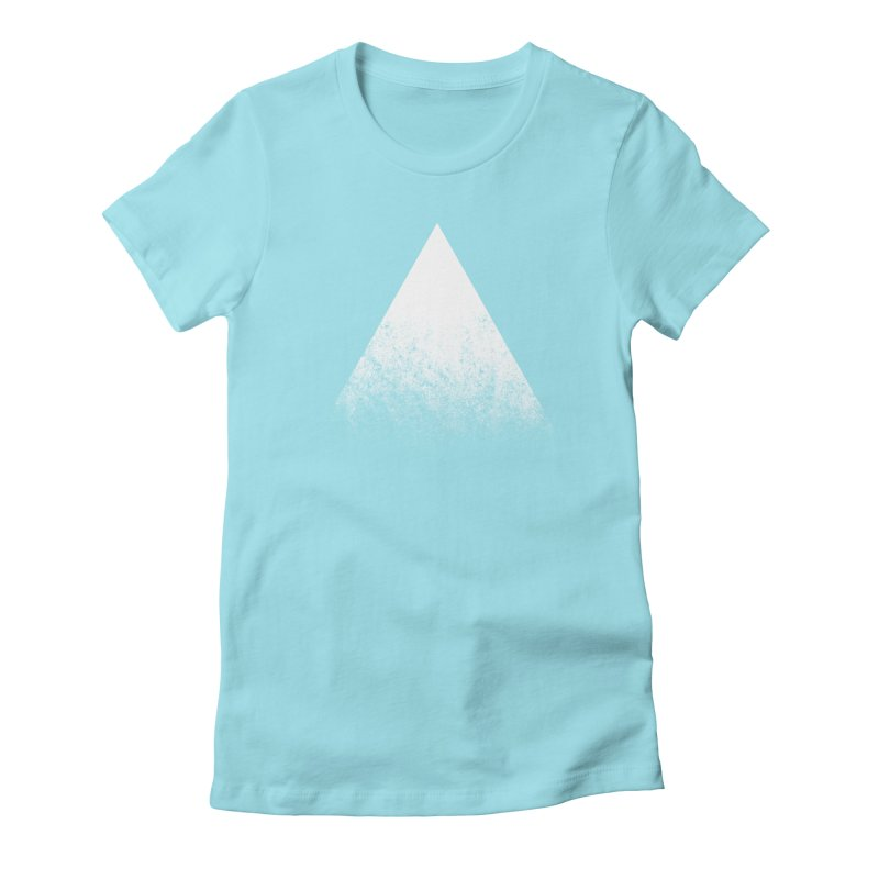 Summit Women's Fitted T-Shirt by ayarti's Artist Shop