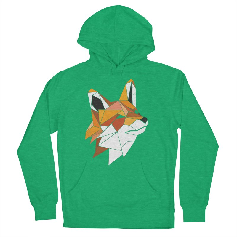 Faux Renard Men's Pullover Hoody by ayarti's Artist Shop