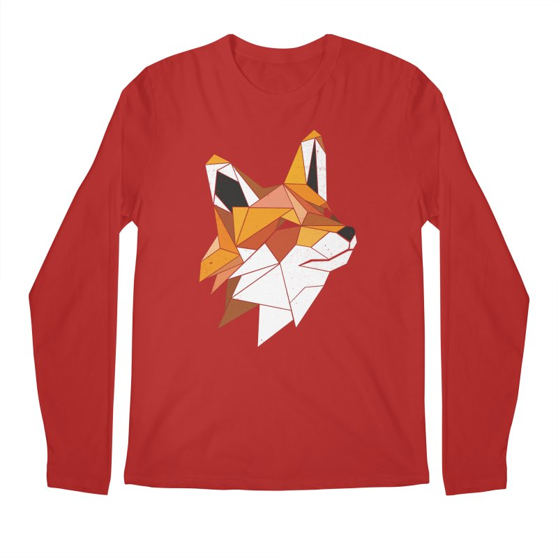 Faux Renard Men's Longsleeve T-Shirt by ayarti's Artist Shop