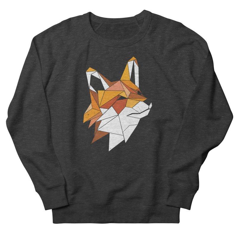 Faux Renard Men's Sweatshirt by ayarti's Artist Shop