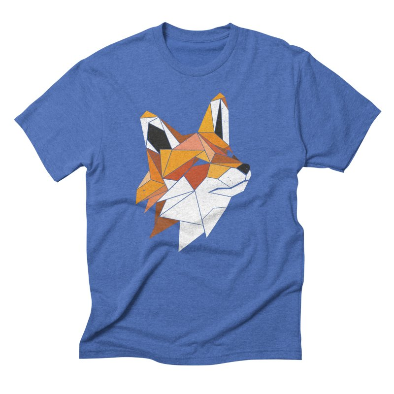 Faux Renard Men's Triblend T-Shirt by ayarti's Artist Shop