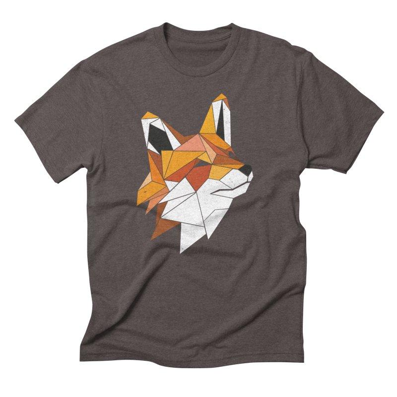Faux Renard Men's Triblend T-shirt by ayarti's Artist Shop