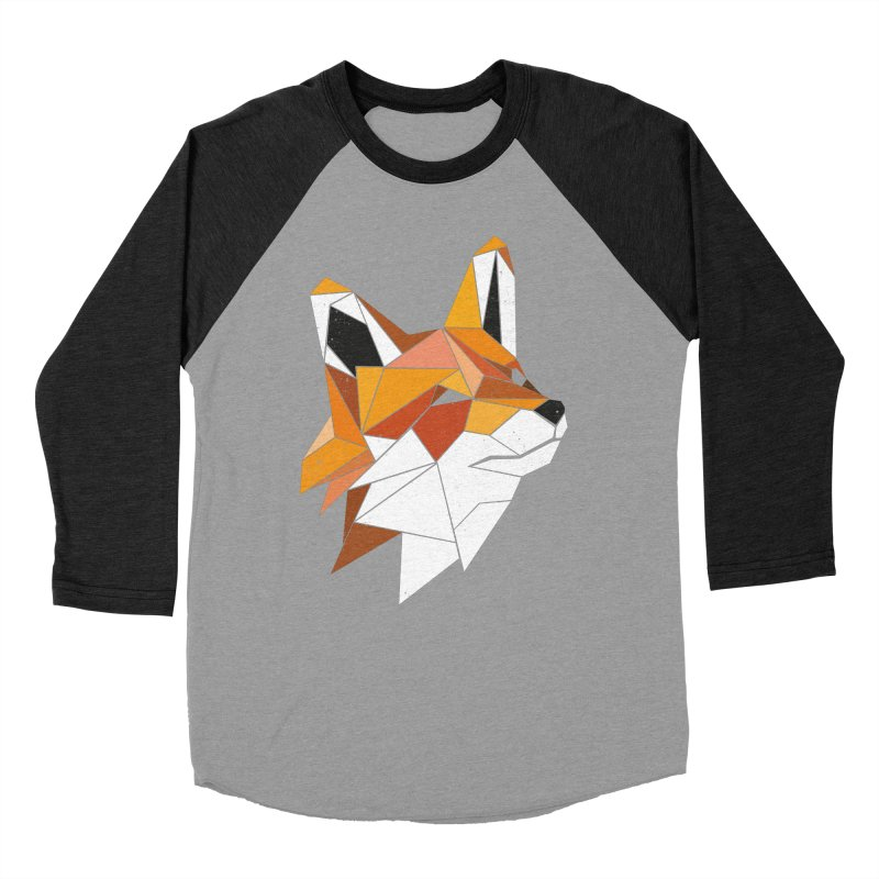 Faux Renard Women's Baseball Triblend T-Shirt by ayarti's Artist Shop